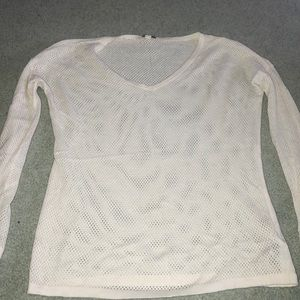 Gap long sleeve t-shirt with holes